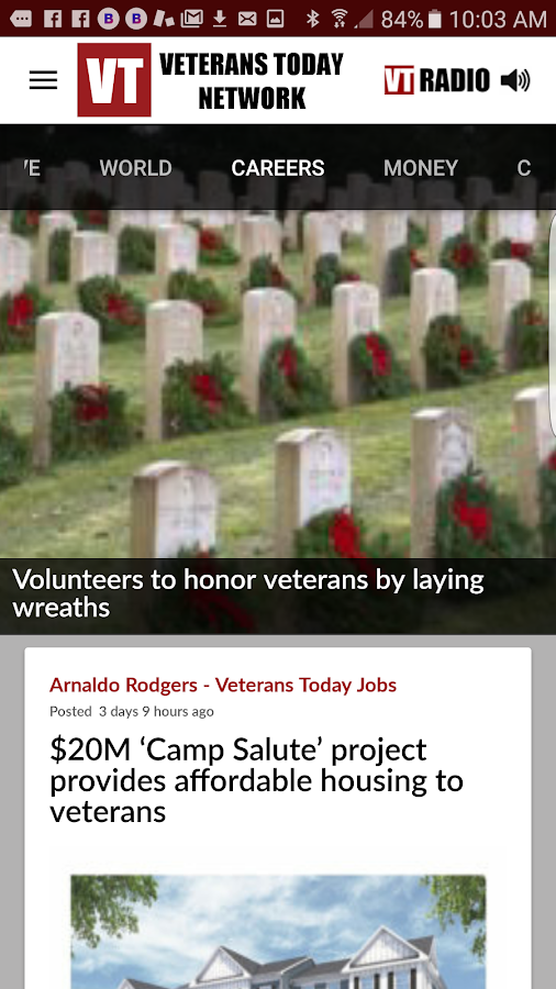 Veterans Today Network- screenshot