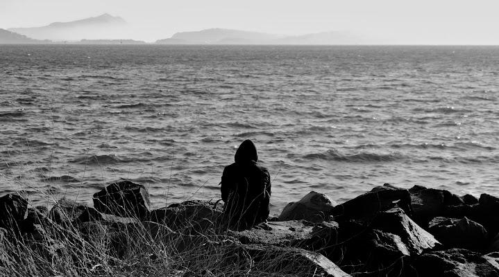 ...Alone, alone with sea...  di Alexphoto