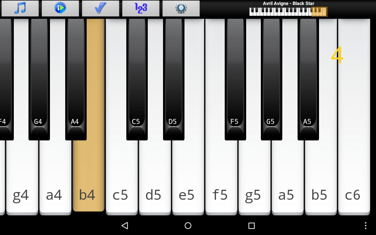 Piano Melody Free- screenshot