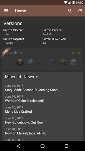 CleverBook for Minecraft 1.12 2.8.1 screenshots 5
