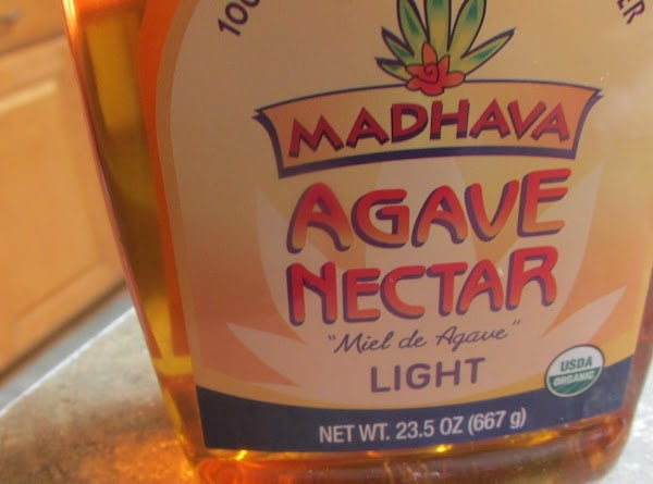 and lastly the Agave Nectar & spices.