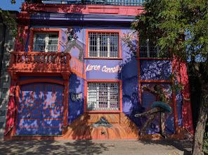 Photo: Skillfully executed mural on a house in the Bellavista district