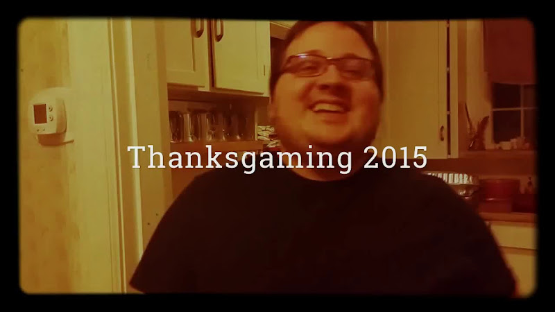 Video: Thanksgaming is tonight! It's an annual potluck celebration of our local gaming community. Here's some footage from 2015, wherein I accidentally discovered that if I am standing next to my wife and talk with a group with the camera pointed slightly down, or lean in for a kiss, I take footage of her cleavage that Google seems to always autoselect when making a movie. Ah well.  First turkey has been in the oven for awhile making delicious smells. Next turkey going in soon.  If you're a gamer in the Nashville area, we've got it listed on Meetup: https://www.meetup.com/NAGACentral/events/235639204/