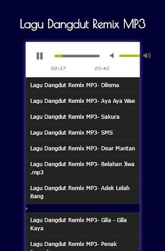 Mp3; pop dangdut remix hit's for android apk download.