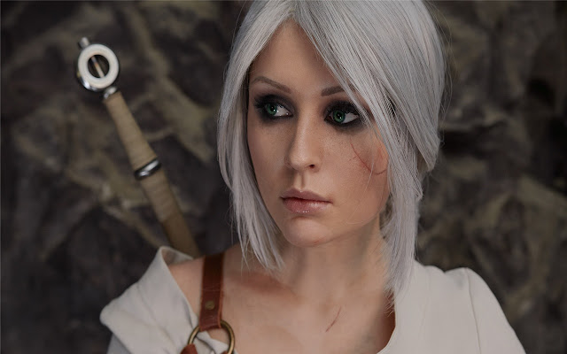 The Witcher Cosplay Themes & New Tab