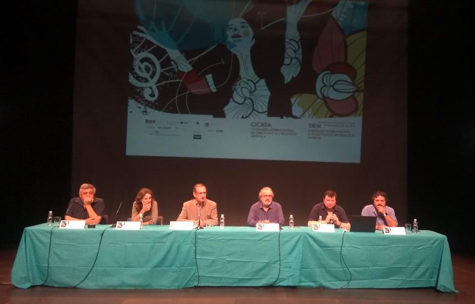II Seminario Internacional de Investigación en Educación Musical y el I Congreso Internacional de Creatividad en la Educación Artística