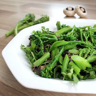 Broccolini & Mushroom Salad