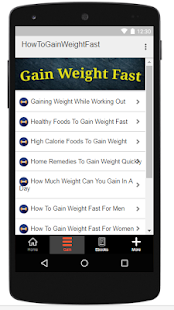 How To Gain Weight Fast - náhled