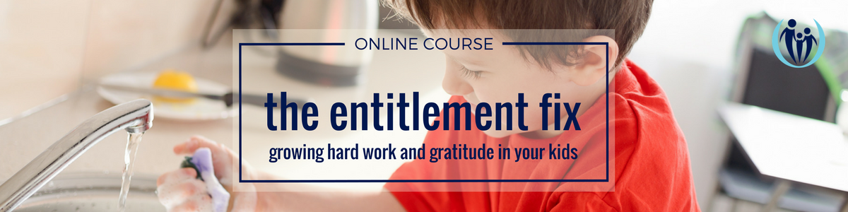 Online course to stop raising entitled kids.
