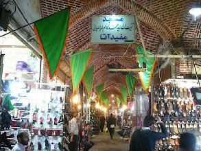 Photo: Tabriz bazárja, UNESCO védett bazársor, Tabriz, Tabriz, bazár, Selyemút