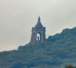 Photo: Porta Westfalica aus großer Entfernung