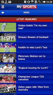 Sky Sports Live Cricket SC- screenshot thumbnail