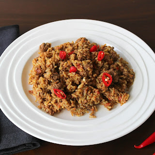Spicy Beef and Rice.