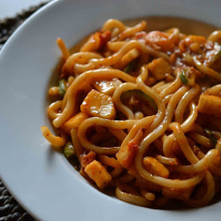 Sweet And Spicy Udon Noodles
