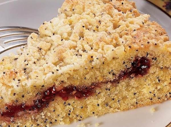 Lemon-poppy Seed-raspberry Cofee Cake Recipe