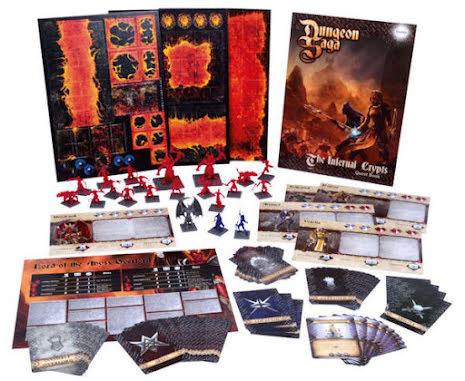 Dungeon Saga: The Infernal Crypts