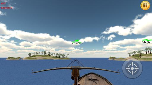Pterodactyl Ship Shooter 3D