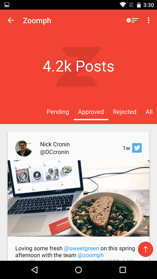 Zoomph Social Manager- screenshot