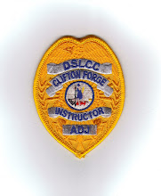 Photo: Dabney S. Lancaster Community College, Administration of Justice Program, Badge, Instructor