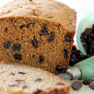 Cinnamon Raisin Quick Bread.