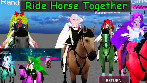 SchoolGirl AI - 3D Multiplayer Sandbox Simulator apkdebit screenshots 4