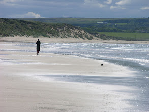 Photo: Mick and Dunnet Head Beach