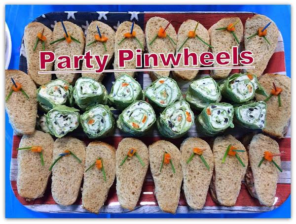 Party Pinwheels Recipe