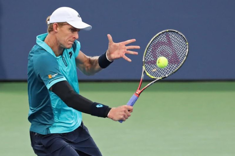 Kevin Anderson in action at the US Open. Picture: REUTERS