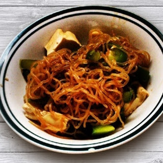 Easy Tofu Miracle Noodle Ramen.