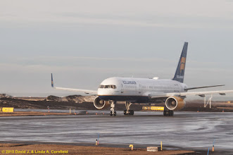 Photo: Three chartered Icelandair 737s take off from Reyjkavik, Iceland to view the total solar eclipse of 20 March 2015