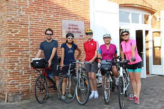 Photo: Le groupe cyclo-découverte