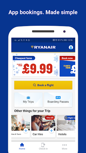 Ryanair - Cheapest Fares 3.57.1 screenshots 1