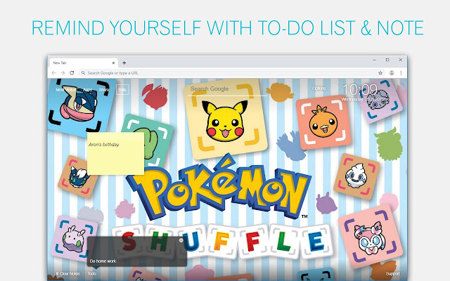 Pokemon Backgrounds HD Custom Pikachu New Tab