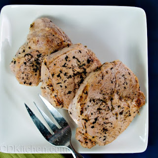 Herb Rubbed Pork Chops.
