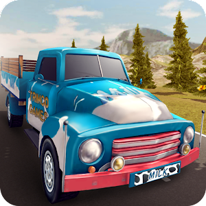 Hill Truck Fresh Milk Delivery for PC and MAC