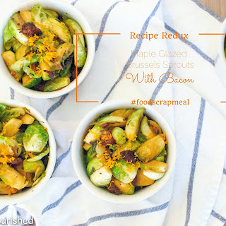 Maple Glazed Brussels Sprouts with Bacon