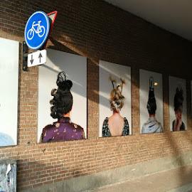 by Tiffany Wu - City,  Street & Park  Street Scenes