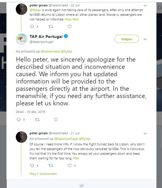 flight disruptions, and they could not care less!
