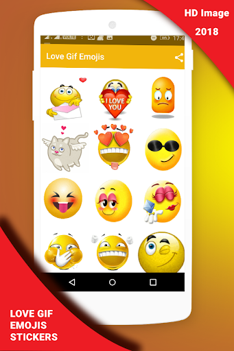Love Gif Emoji Stickers 1.0.3 screenshots 3