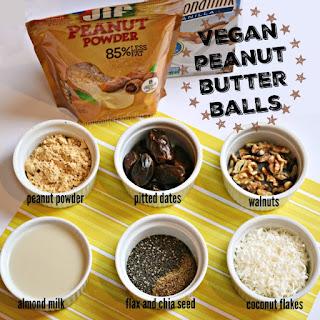 Vegan Peanut Butter Balls.