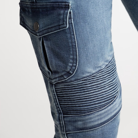 Broger Ohio Jeans Dame (washed blue)