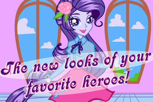 Puzzles with cute pony