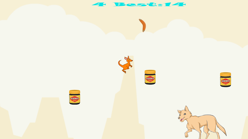 android Australian Kangaroo Chaos Screenshot 0