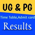 All University - Results, TimeTable & Admit card icon