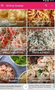 make shrimp scampi pasta 30+ - náhled