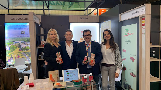 'Sabores Almería' confirma en Núremberg el potencial de la producción ecológica