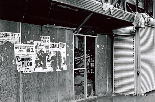Debris Filled Store 1969 After the 1968 Riot