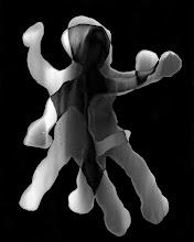 """Photo: © Olivier Perrot 1997-2008 photogramme  """"vivre à deux""""  Tirage pigmentaire 40x50cm ref : -01-329-330"""