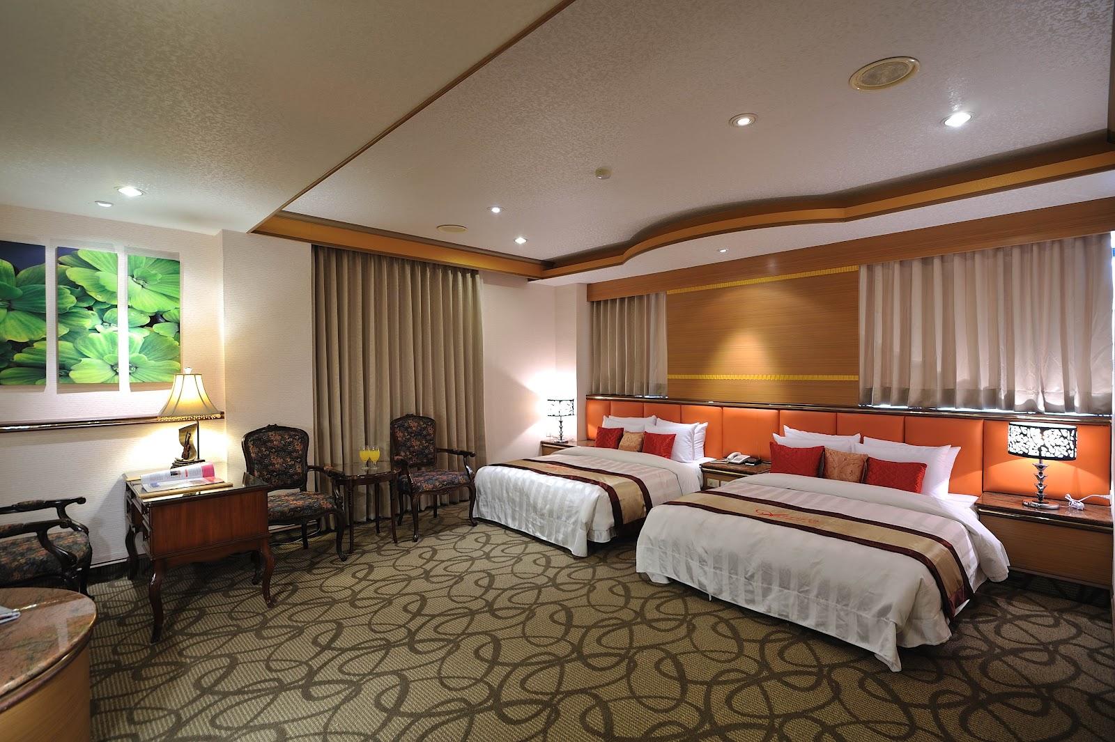 文賓大飯店經典家庭房