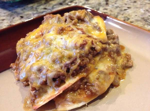 Mexican Taco Lasagna Recipe
